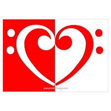 Red Bass Heart