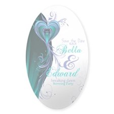 Breaking Dawn STD Teal STD Decal