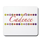 Cadence with Flowers Mousepad