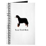 Bernese mountain dog Journals & Spiral Notebooks