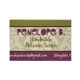 Penelope B. Rectangle Magnet