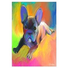 "French bulldog 1 (16x16"")"