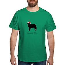 Berner Santa - Your Text T-Shirt