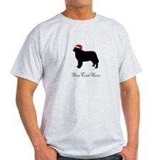 Berner Santa - Your Text T-Shirt