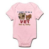 Vet Like Daddy Onesie