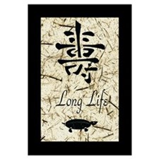 "Ancient Calligraphy ""Long Life"""