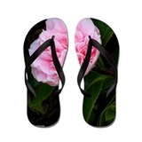 Pink Flower, photo, lovely, Flip Flops