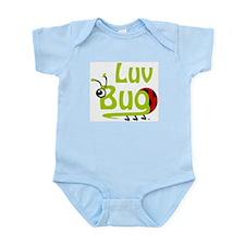 Infant Bodysuit - Green Text