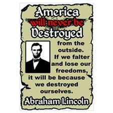 """""""Lincoln: Destroy Ourselves"""""""