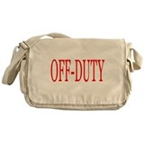 Off-Duty (Red) Messenger Bag