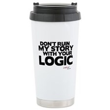 My Story... Your Logic Stainless Steel Travel Mug