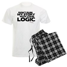 My Story... Your Logic Men's Light Pajamas