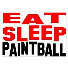 Unique Paintball Wall Art