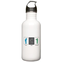 The Three Stages of Life Stainless Water Bottle