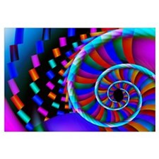 Color Rope Fractal Art