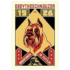 Obey the Schnauzer! 1926