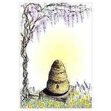 bee hive wisteria