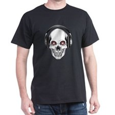 Red Eye DJ Skull T-Shirt