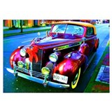 Funny Antique car Wall Art