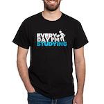 EDISc babyblueonblack T-Shirt