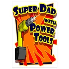 Super Dad with Power Saw
