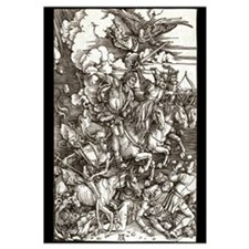 Durer - Four Horsemen 16x20