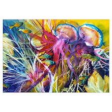 Jellyfish Reef Print