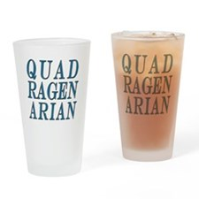 Quadragenarian, 40 Gifts Drinking Glass