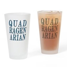 Quadragenarian, 40 Gifts Drinking Glass