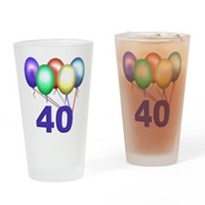 40 Gifts Drinking Glass