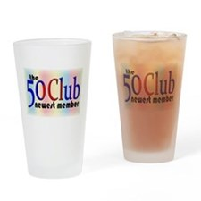 The 50 Club Drinking Glass
