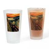 Scream 60th Drinking Glass