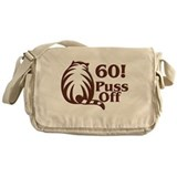 60! Puss Off, 60th Messenger Bag