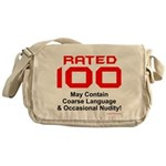 100th Birthday Messenger Bag