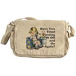 Funny IT Messenger Bag