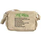 Irish Blessing Messenger Bag
