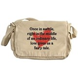 Fairy Tale Love Messenger Bag