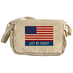 Memorial Day Messenger Bag