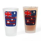 Aussie Pint Glasses