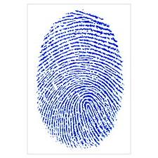 Blue Fingerprint