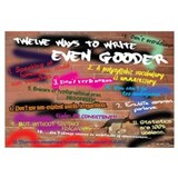 How to Write Even Gooder 16x20 , Graffiti