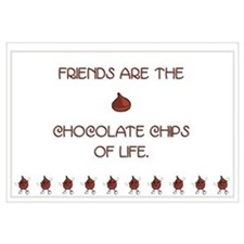 Friends and chocolate