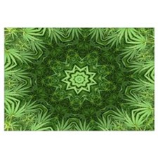 Marijuana Leaf Kaleidoscope