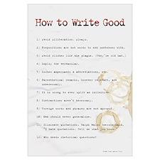 How to Write Good 11x17 ,Sloppy Typist
