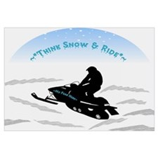Think Snow and Ride Snowmobiling