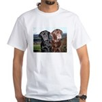 CaninenCancerAwareness White T-Shirt