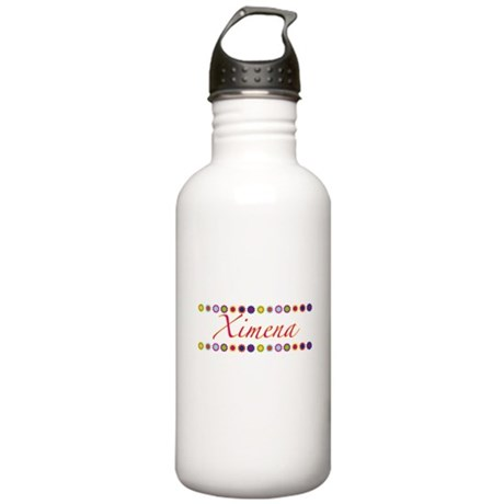 Ximena with Flowers Stainless Water Bottle 1.0L