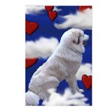 "great Pyrenees Postcards (P. of 8) ""In the Clouds"""