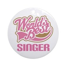 World's Best Singer Choir Ornament