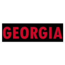 Georgia Bumper Bumper Sticker